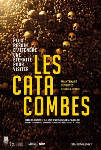 Evènement : En 2017, les Catacombes de Paris font peau neuve