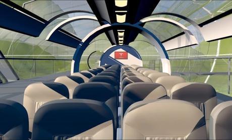 Hyperloop dévoile sa capsule supersonique