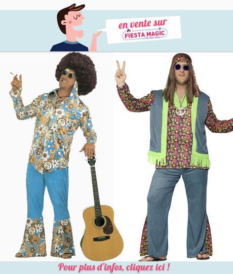 Deguisement Hippie grande taille homme