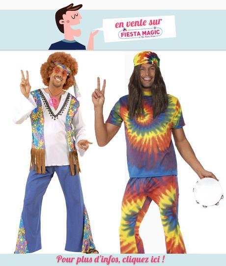 Deguisement Hippie pour homme