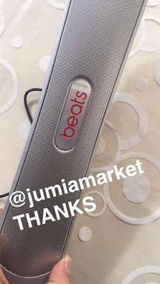 J'ai testé pour vous: l'enceinte portable de Jumia Market