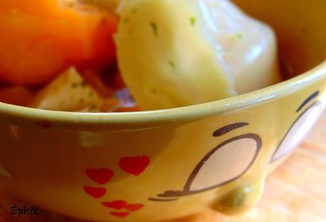 Bouilli avec algues et miso ...