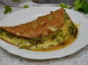Omelette asperges sauvages