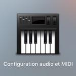 Configuration audio et midi