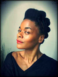 Ngo , créatrice de la web serie - La crepue