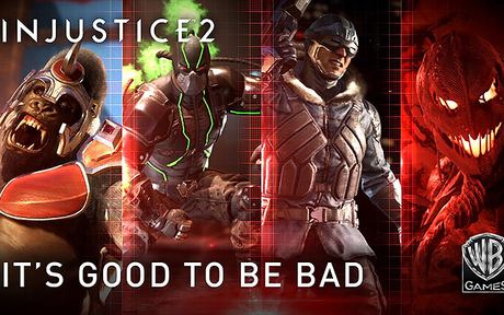 GAMING | Injustice 2 : Un nouveau trailer avec Bane, Captain Cold, Scarecrow et Gorilla Grodd !