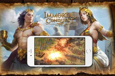 Immortal Conquest : Europe disponible sur iOS & Android