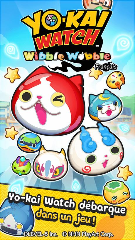 YO-KAI WATCH Wibble Wobble est disponible sur Android et iOS