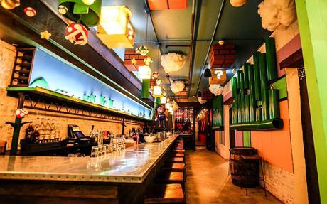 Ouverture d'un bar dédié à Super Mario