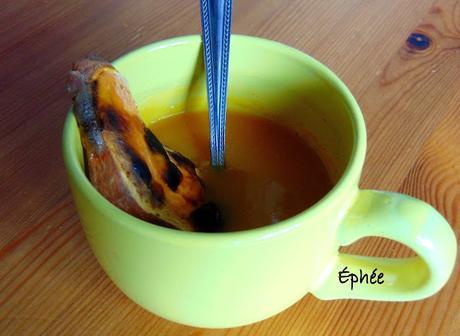 Soupe jaune