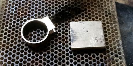 pièces en or pour la fabrication de la bague or 14k