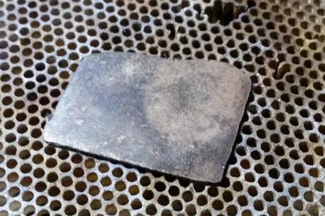 plaque d'or 14 carats