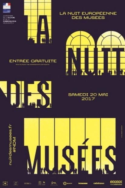 Evènement : 13e édition de la Nuit européenne des musées