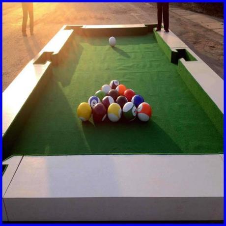 Le snookball, une belle rencontre entre le foot et le billard