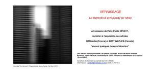exposition HANNAKA et Matt WAPLES  « Vues et quelques durées d'attention » Galerie VITRINE 65