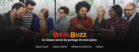 DealBuzz, le réseau social du partage de bons plans