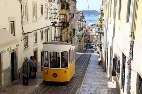 Que faire à Lisbonne : funiculaire à Bairo Alto