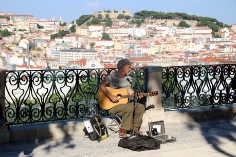 Que faire à Lisbonne : Miradoura Sao Pedro de Alcantara