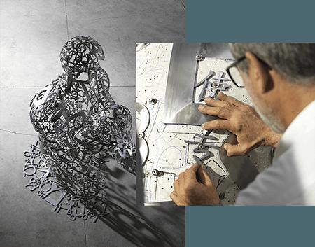 Ruinart – Nouvelle collaboration artistique avec Jaume Plensa