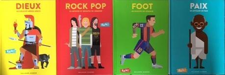 Pour tout savoir des Stone, à Zidane et de Mandela à Héra : c'est la collection Bam !