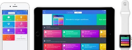 Apple rachète l'application Workflow, qui devient gratuite