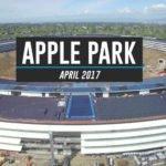 Apple Park : nouveau survol par un drone avant son ouverture en avril