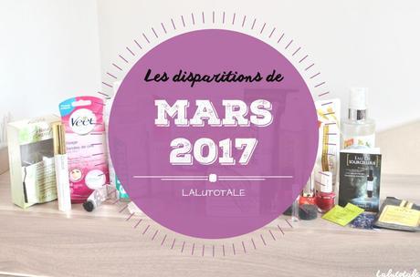 ✞ Les disparitions de Mars 2017 ✞