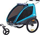 • Type / Usage prévu: remorque pour enfants • Poids: 12 kg • Informations supplémentaires: - Jeu pour vélo et poussette inclus - Transformation simple de la remorque en poussette - Fixation sécurisée sur le vélo grâce au système ezHitchTM breveté de ...