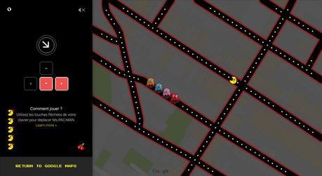 Un aperçu de Ms. Pac-Man au coin de la rue Saint-Denis et l'avenue Mont-Royal.