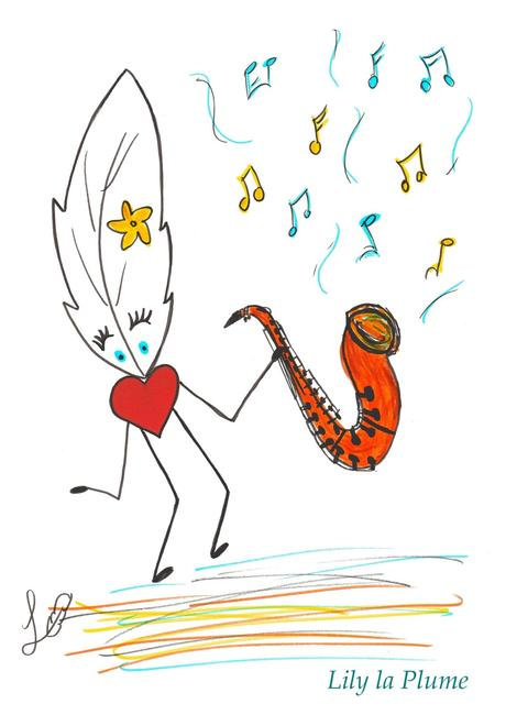Chut ... Le Saxophone