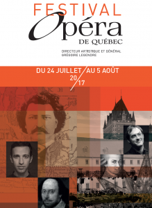 Festiva d'Opéra de Québec 7- Affiche