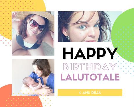 🎂 4ème anniversaire du blog : le lancement des festivités ! 🎉