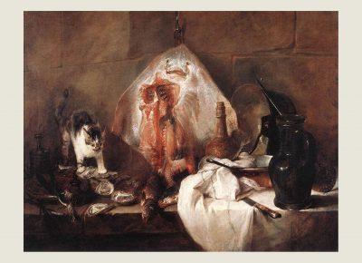 La raie de Jean Baptiste Siméon Chardin