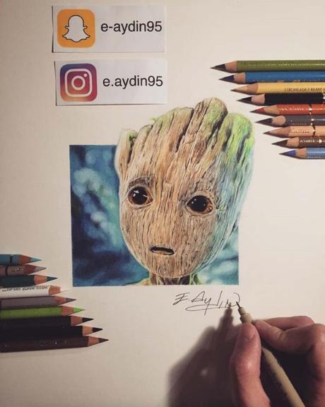 Les somptueux dessins d'Emre AYDIN