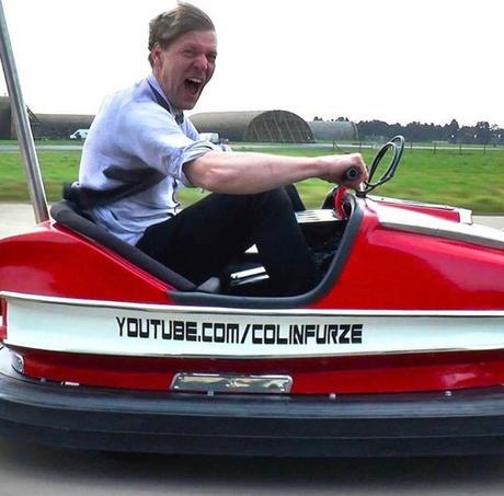 Record de vitesse en auto-tamponneuse