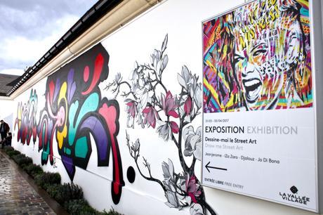 Dessine-moi le street art à La Vallée Village
