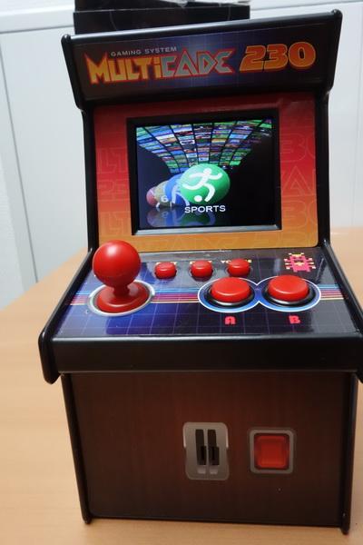 Test de la mini borne d'arcade multicade 230