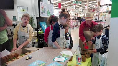 Retour sur la fête des jardiniers du 1er avril 2017 dans le magasin Leroy Merlin de Verquin
