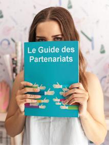 """Je vous offre mon dernier livre : """"Le Guide des Partenariats"""" !"""