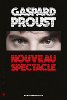 Gaspard Proust propose un nouveau spectacle