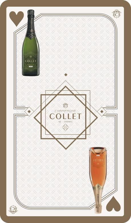 Champagne COLLET : le Roi des vins pour la REINE & le ROI de coeur