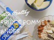 Porridge pomme amandes