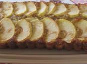 Cake pommes flocons d'avoine