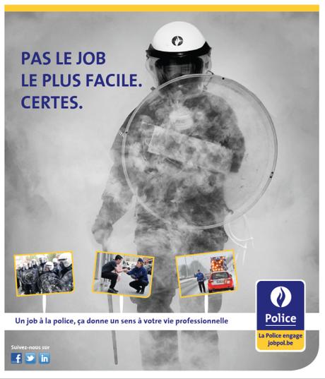 Employer Branding : Chronique d'une campagne réussie, la Police belge récompensée par un award.