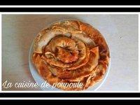 Gratin de crêpes aux noix (Serbe) au thermomix ou sans