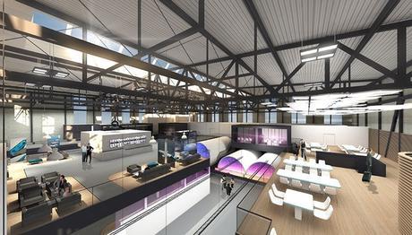 Développement du Customer Definition Centre (CDC) d'Airbus à Hambourg