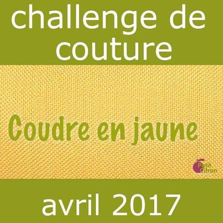 Participez au challenge du mois d'avril : les jupes #challengecoudreenjaune