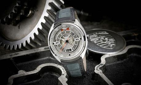 REC présente des montres réalisées à l'aide de matériaux de Porsche 911