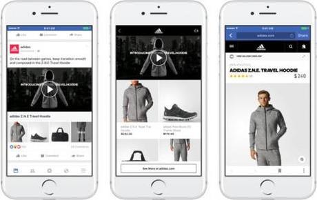 Conseil de la semaine : Testez le nouveau format publicitaire Facebook « Collection »