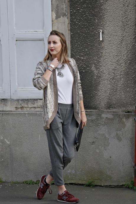 gris et beige mode